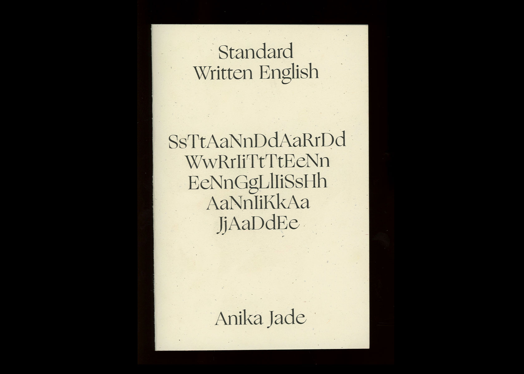 Robert Blair Standard Written English